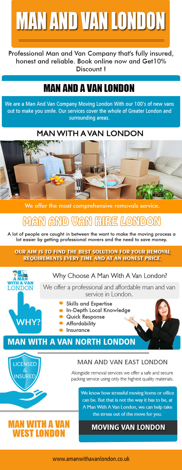 House Removals Prices London