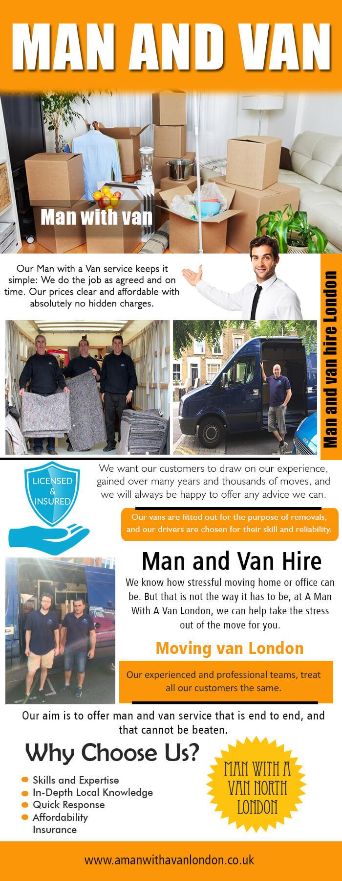 Man And Van London Online Vans